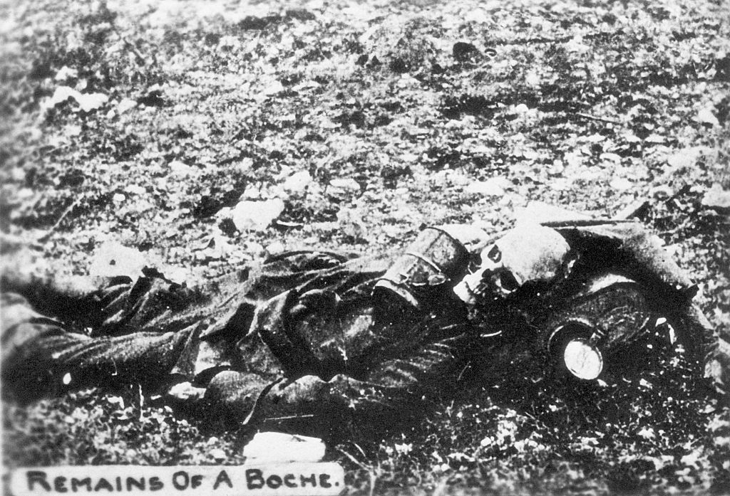 decomposed german body