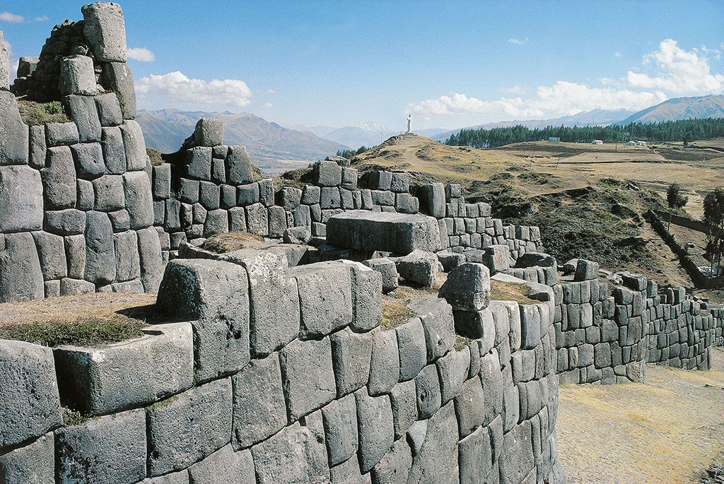 The Saksaywaman Fortress Walls