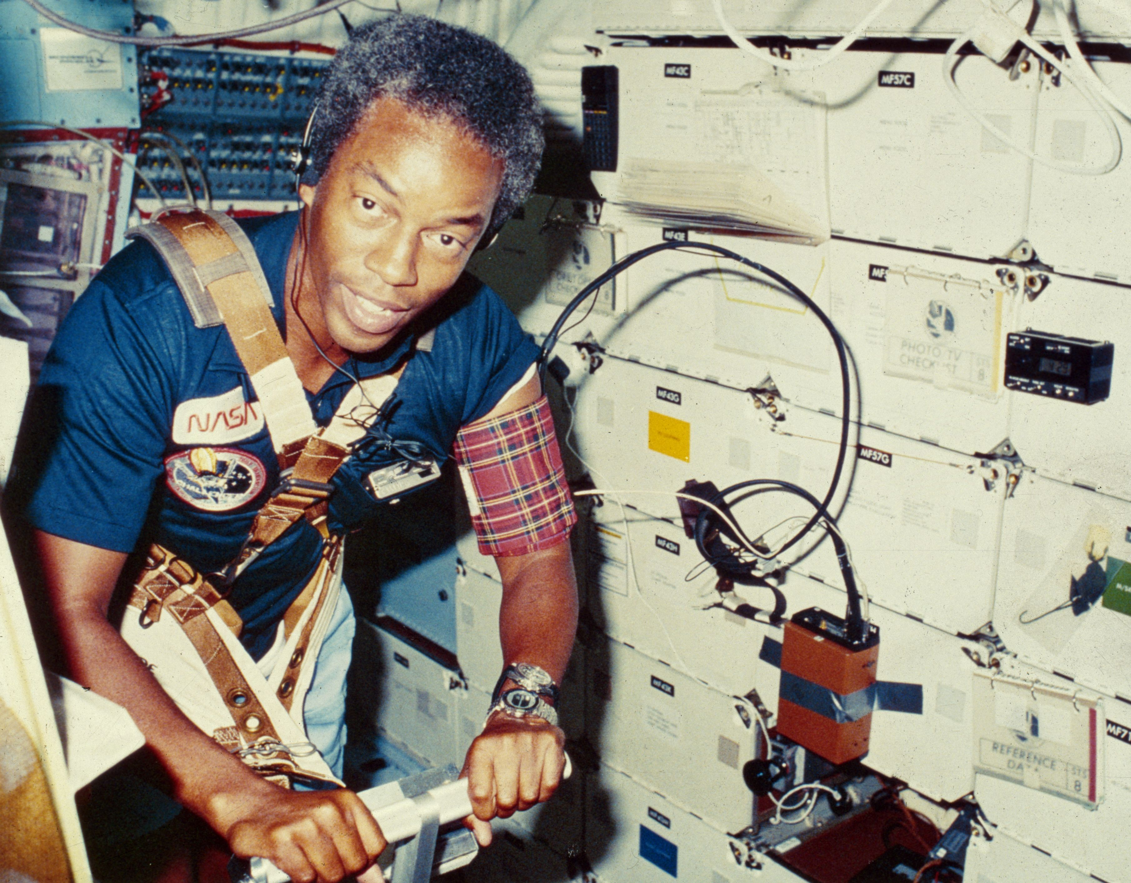 guion bluford challenger ten missions sally ride