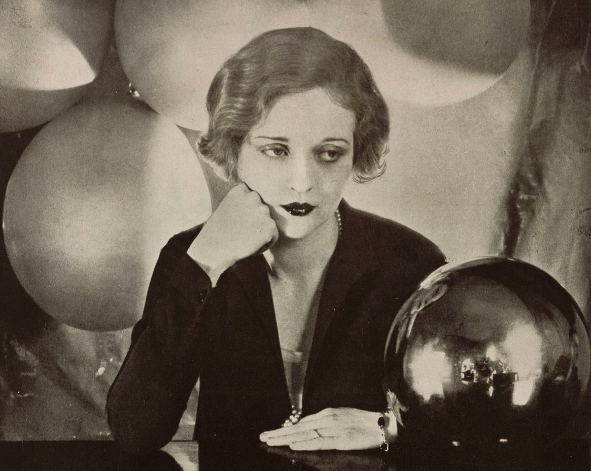 Portrait of Tallulah Brockman Bankhead American Actress 1927