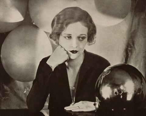 Portrait of Tallulah Brockman Bankhead American Actress 1927