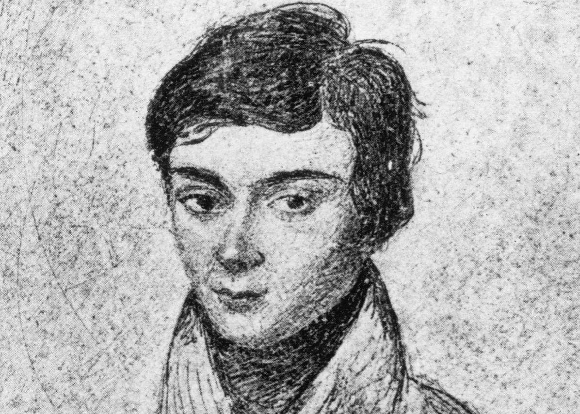 Portrait of Evariste Galois (1811-1832) French mathematician founder of the Theory of Groups