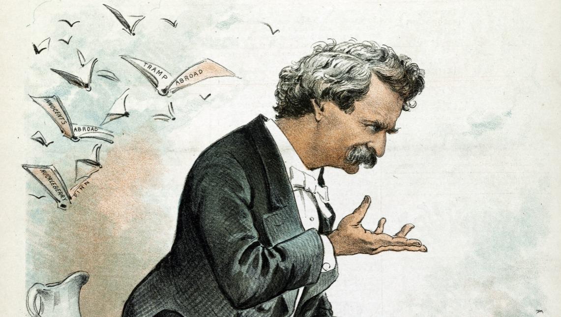 Mark Twain, America's best humorist by Joseph Ferdinand Keppler, 1838-1894, artist. 1885 Dec
