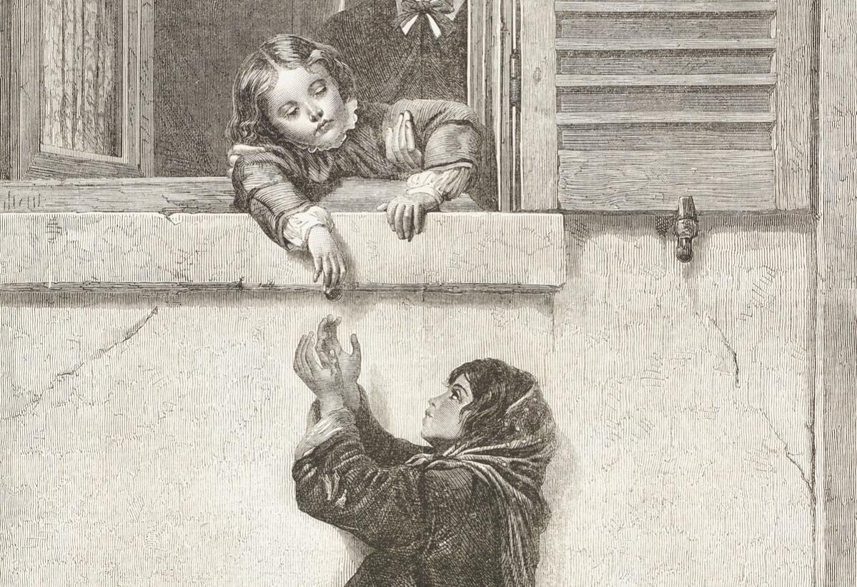 illustration from the magazine The Illustrated London News, volume LVII, October 8, 1870.