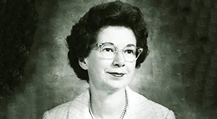 Photo of a Young Beverly Cleary