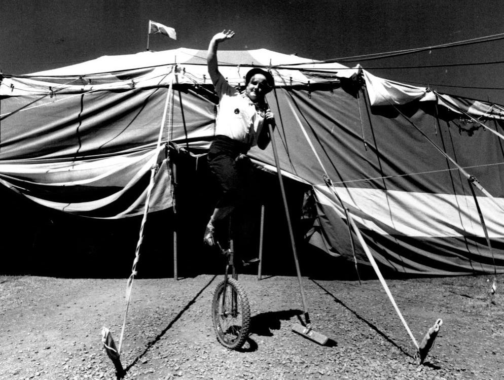 rare circus photo