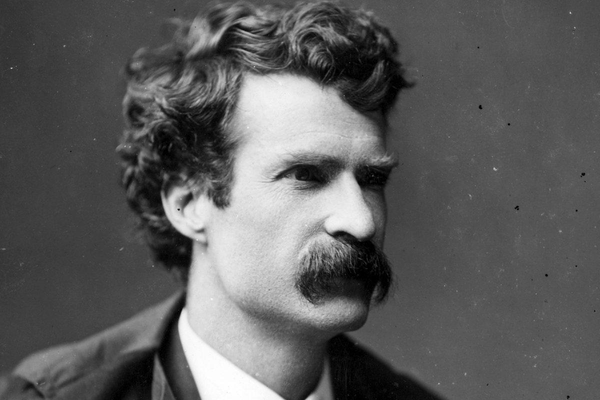 Young Mark Twain Headshot