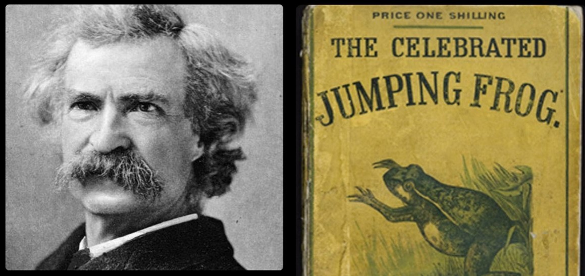Mark Twain and The Celebrated Jumping Frog of Calaveras County