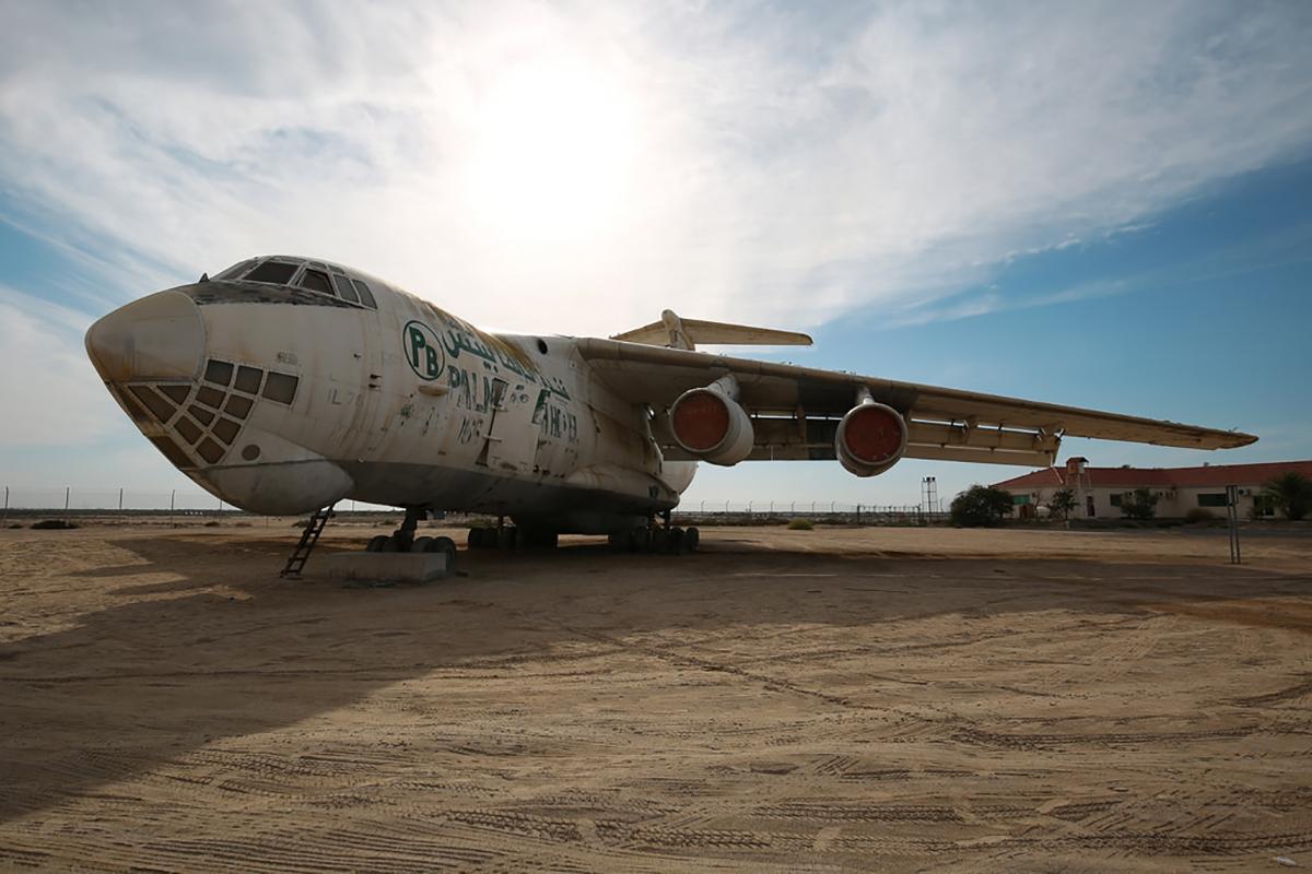 Soviet Ilyushin Il-76 Cargo Plane