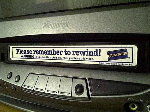 be kind remember to rewind blockbuster video