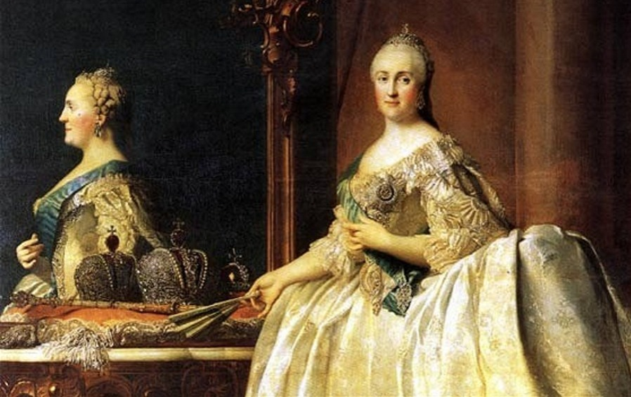Catherine the Greats owned erotic furniture and employed foot tickles for Russian royalty