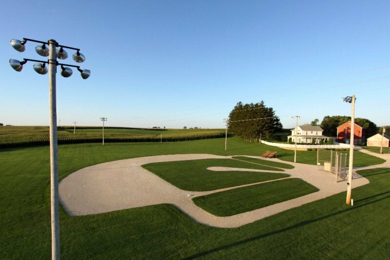 you can visit field of dreams today