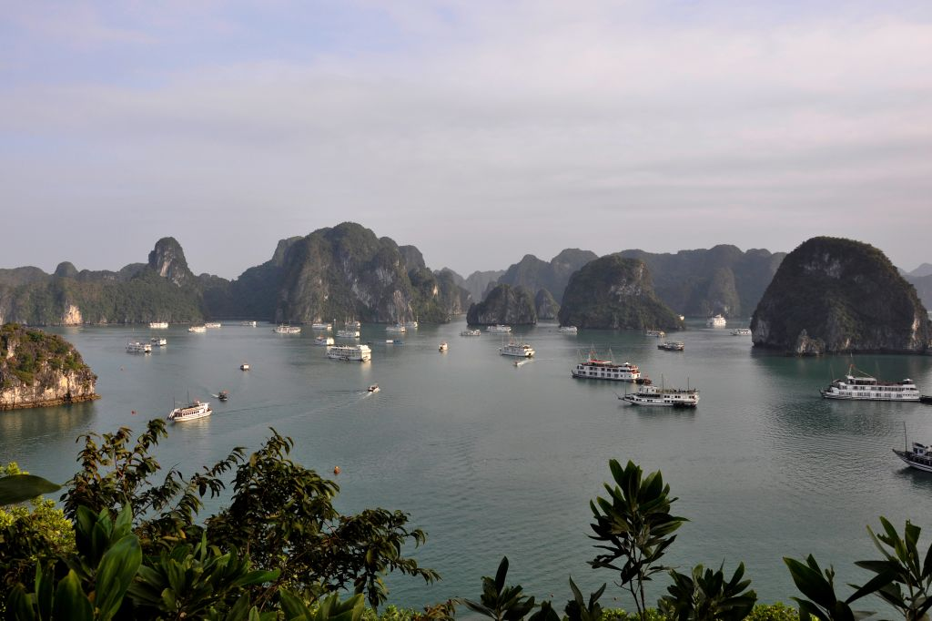 Picture of islands and ha long bay