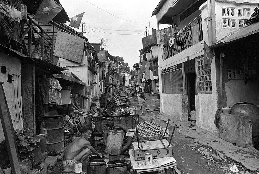 Destroyed Saigon in 1975