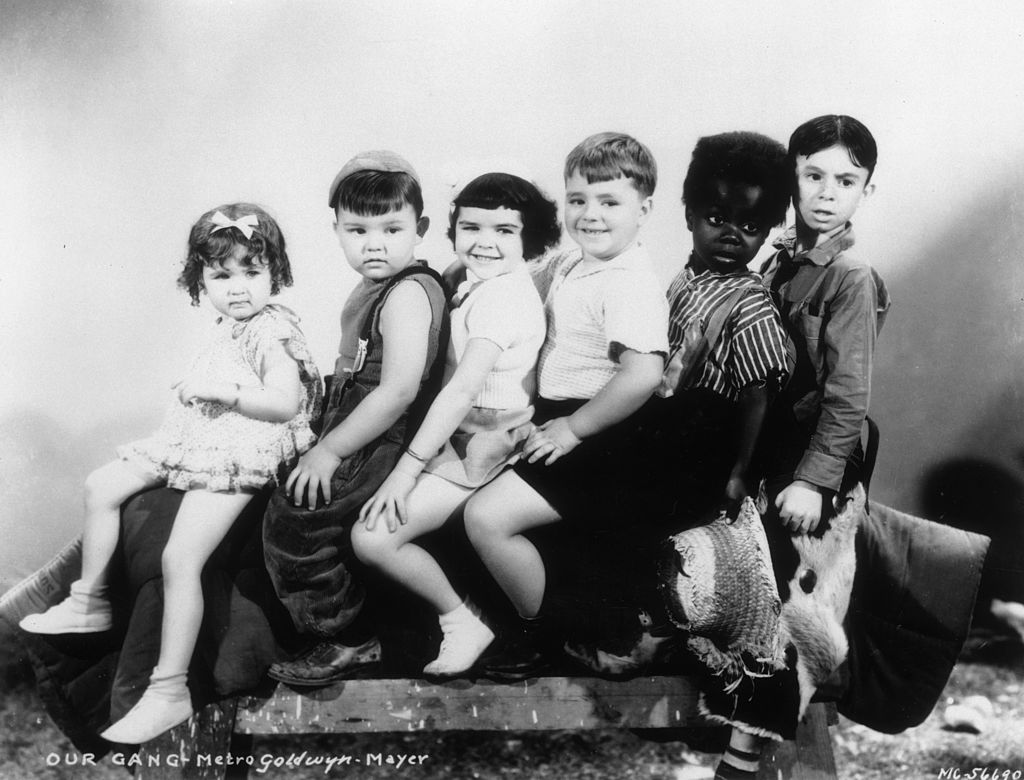 the little rascals in a promotional still for a film