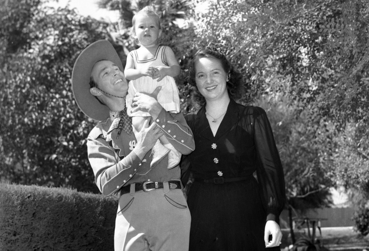 roy rogers and his son roy dusty rogers jr