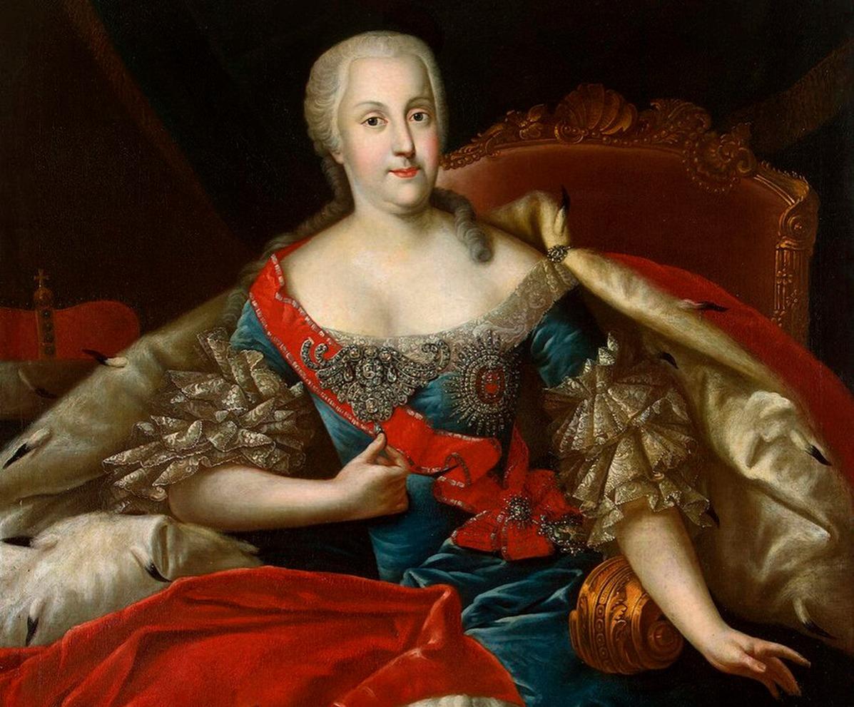 Catherine the Great's mother, Princess Johanna Elizabeth