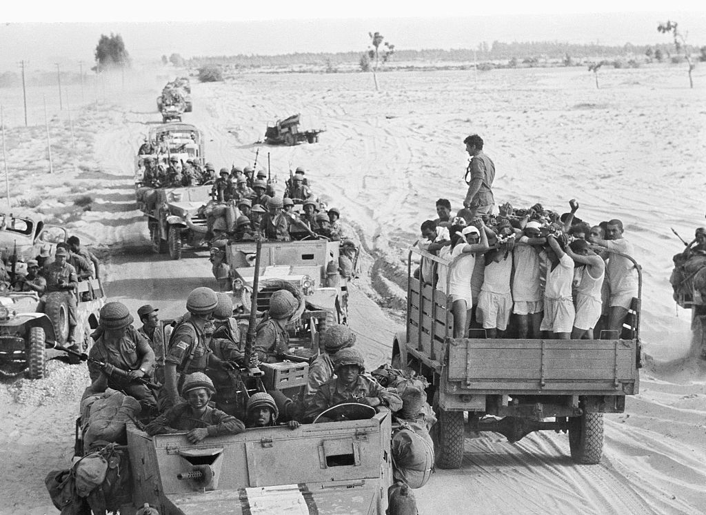 Egyptian Prisoners in the Six-Day War