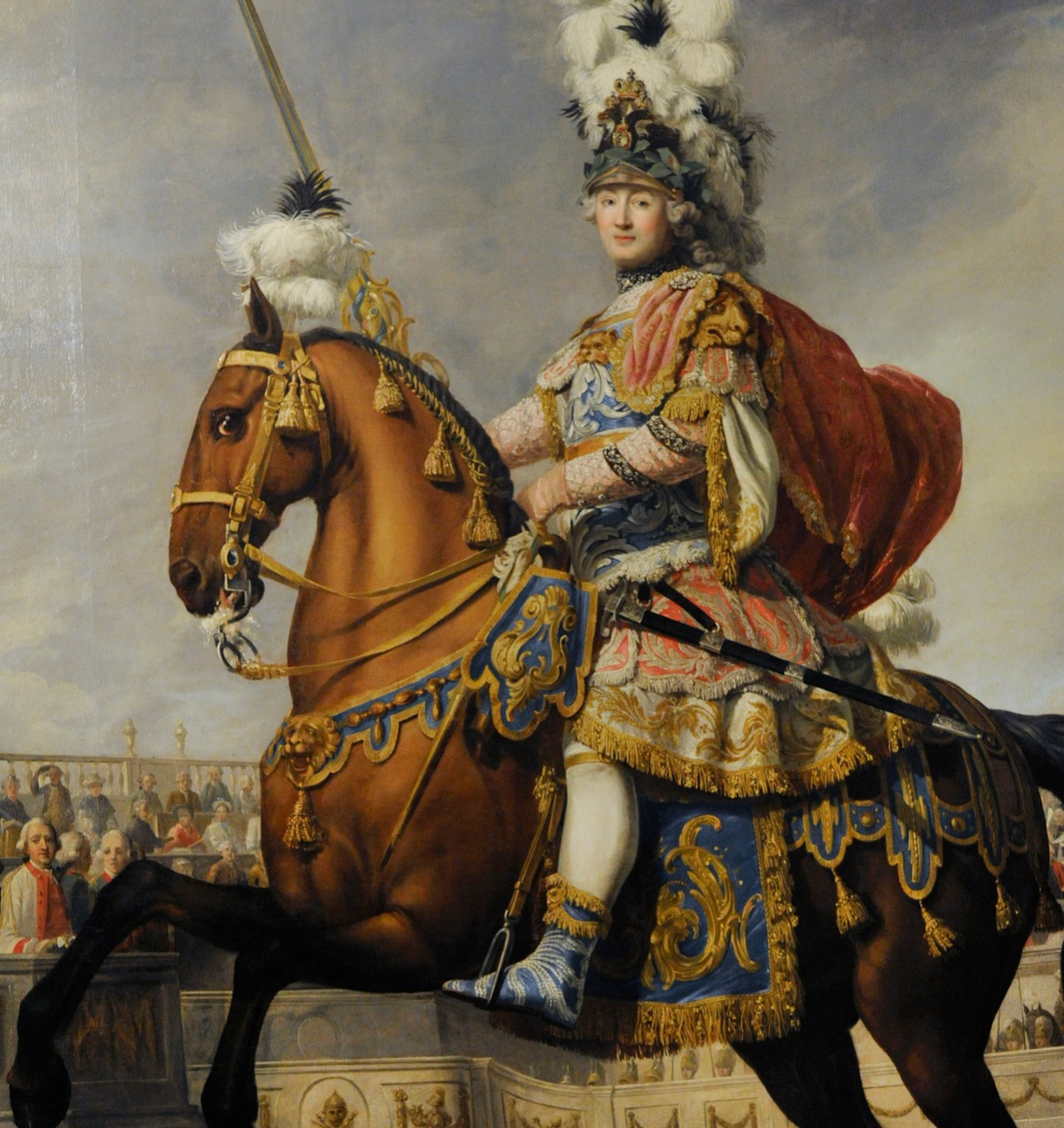 catherine the great loved this particular portrait with a horse