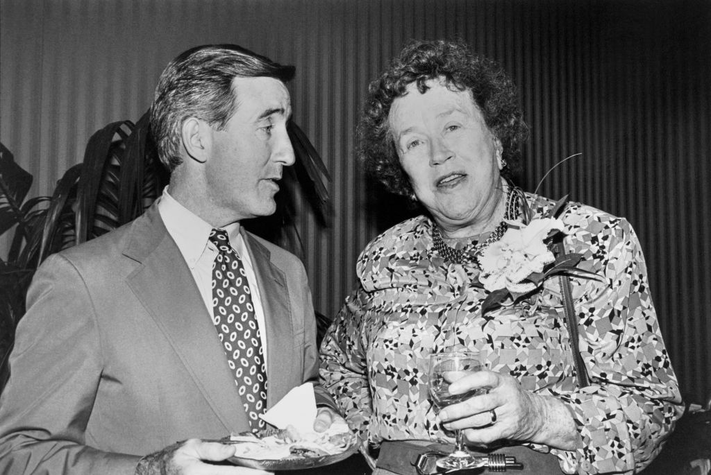 Rep. Richard Edmund Neal, D-Mass., House of Representatives Member, and Julia Child