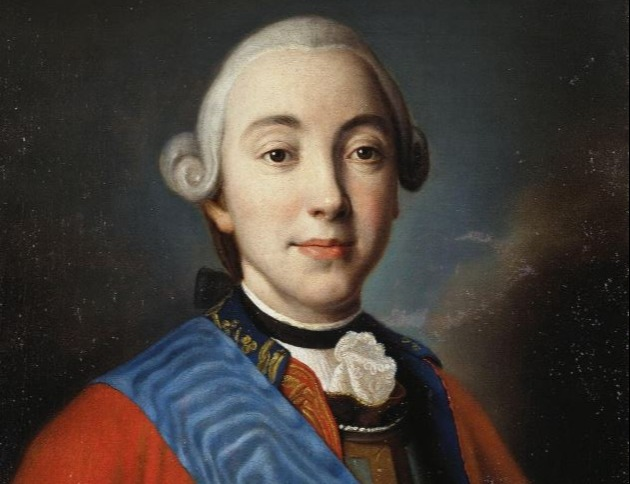 Portrait of Peter III. Emelyan Pugachev claimed to be him in order to rebel.