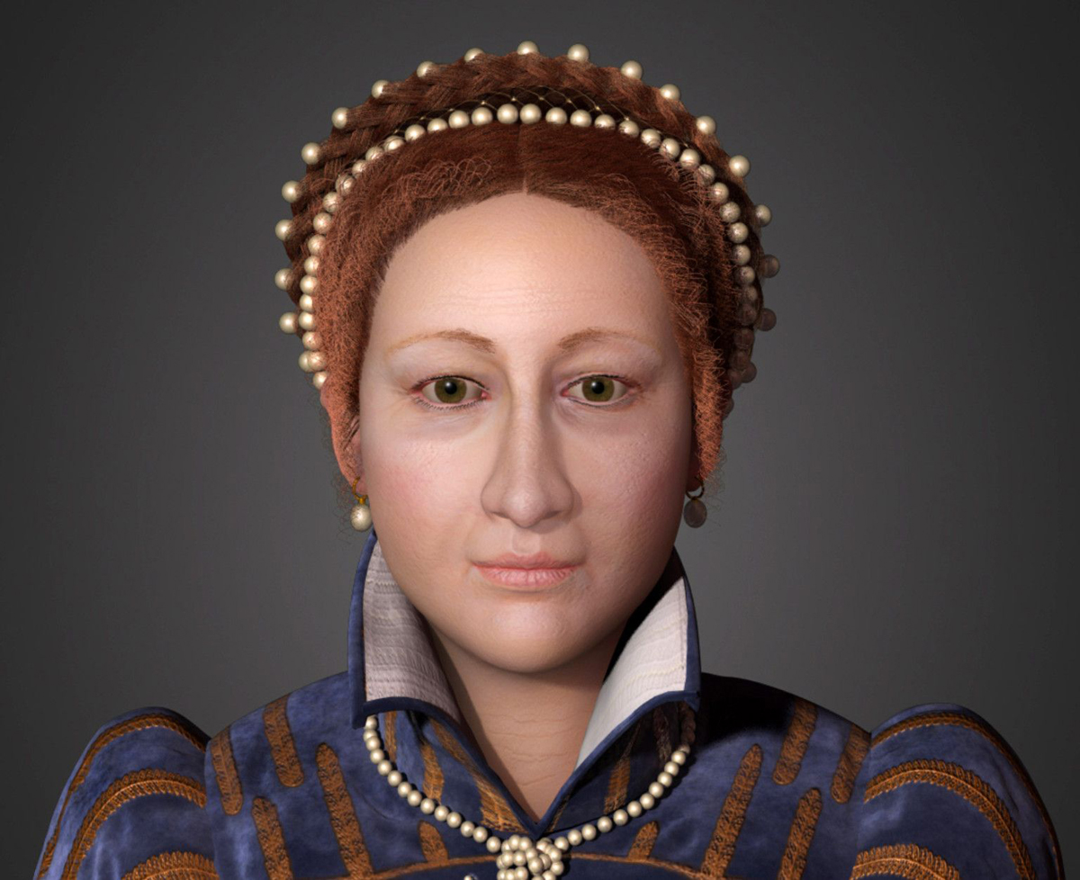 queen of scots face