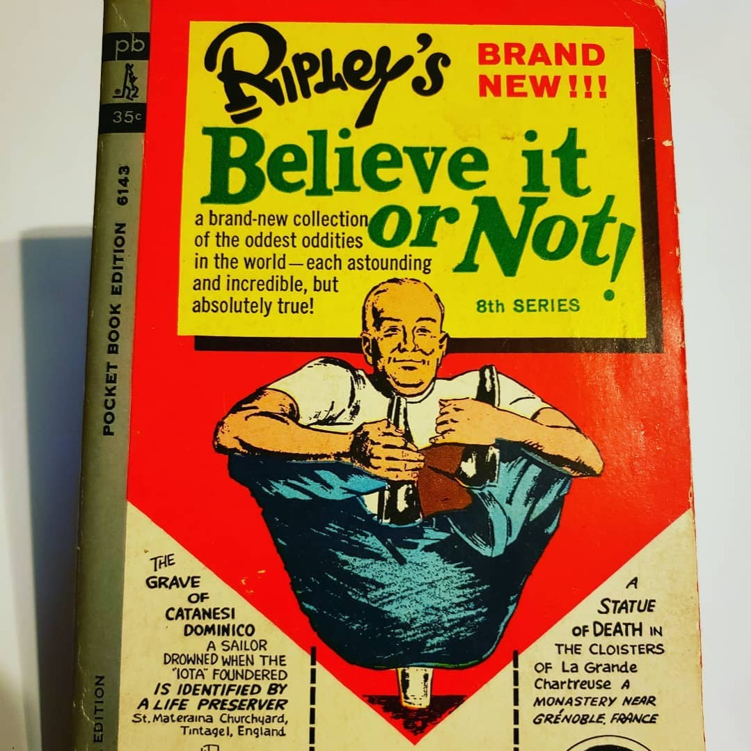ripley's believe it or not book 8th series