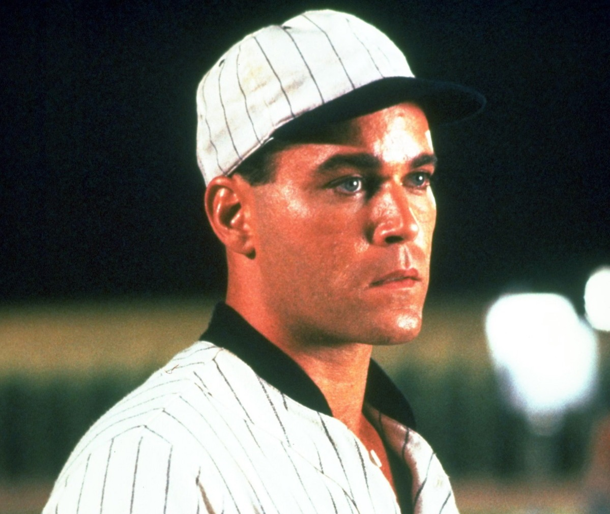 ray liotta couldnt hit left and throw right like shoeless joe