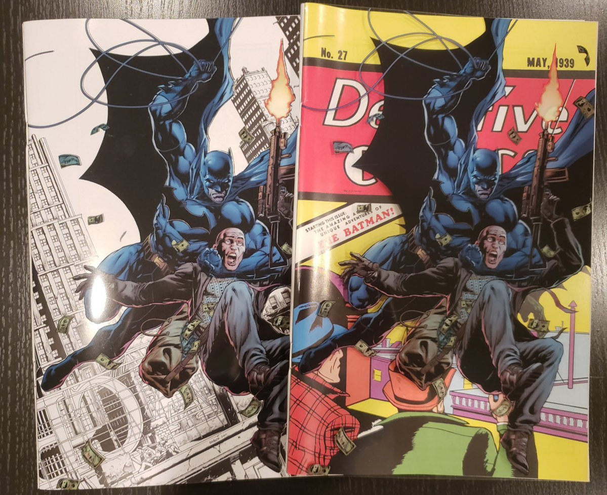 Dective Comics issue 27, the first introduction of Batman