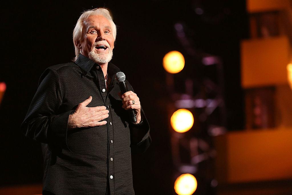 Rogers performing in Las Vegas
