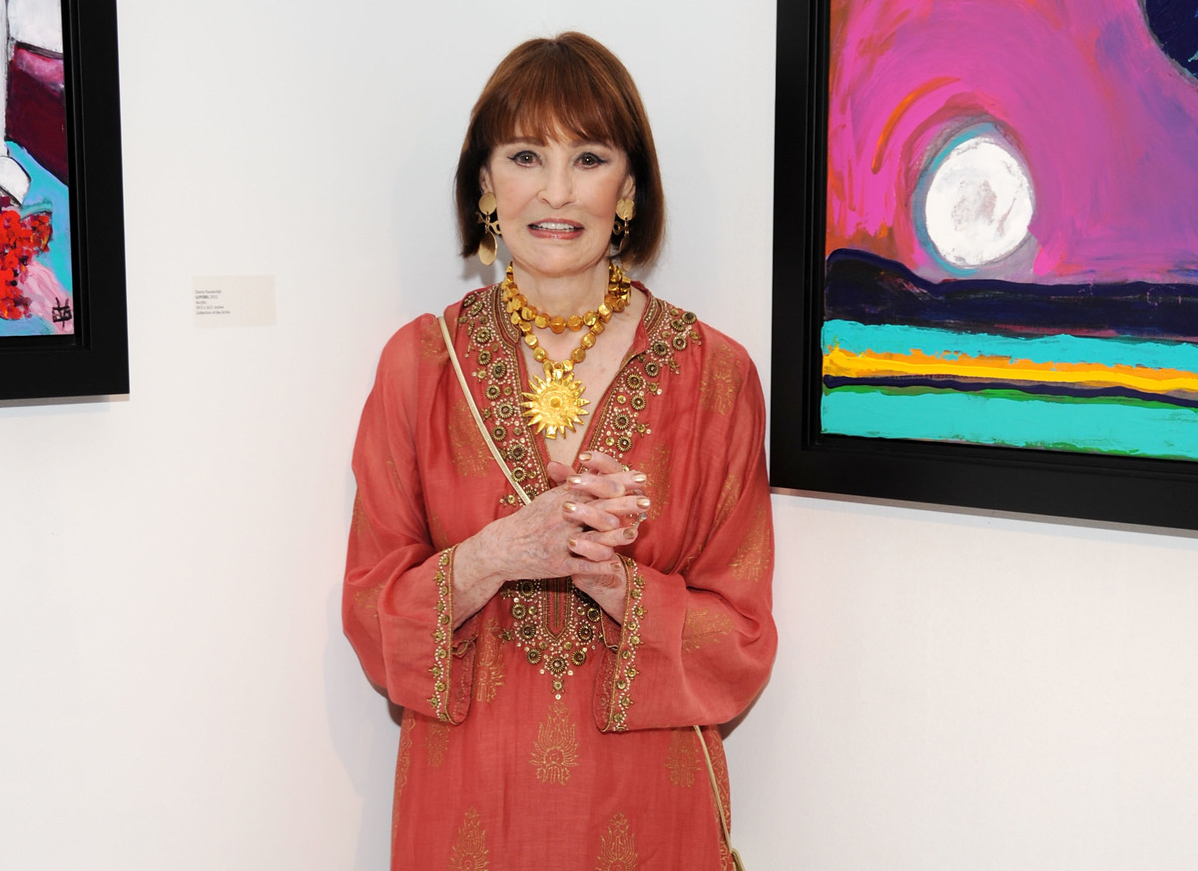 Gloria Vanderbilt attends the