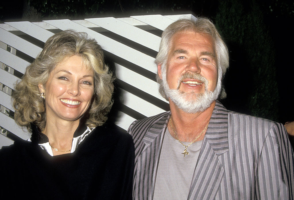 Roger with his ex-wife Marianne Gordon
