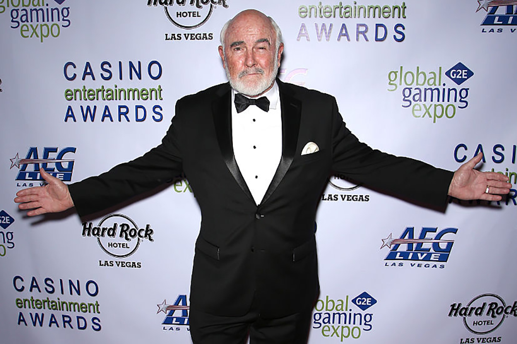 Connery at the Casino Entertainment Awards
