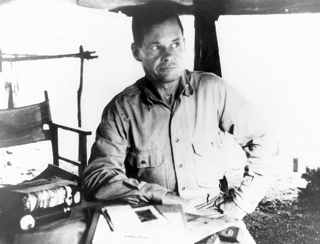 Chesty Commanding Officer of 1st Battalion, 7th Marine Regiment, Guadalcanal, Solomon Islands, 1942