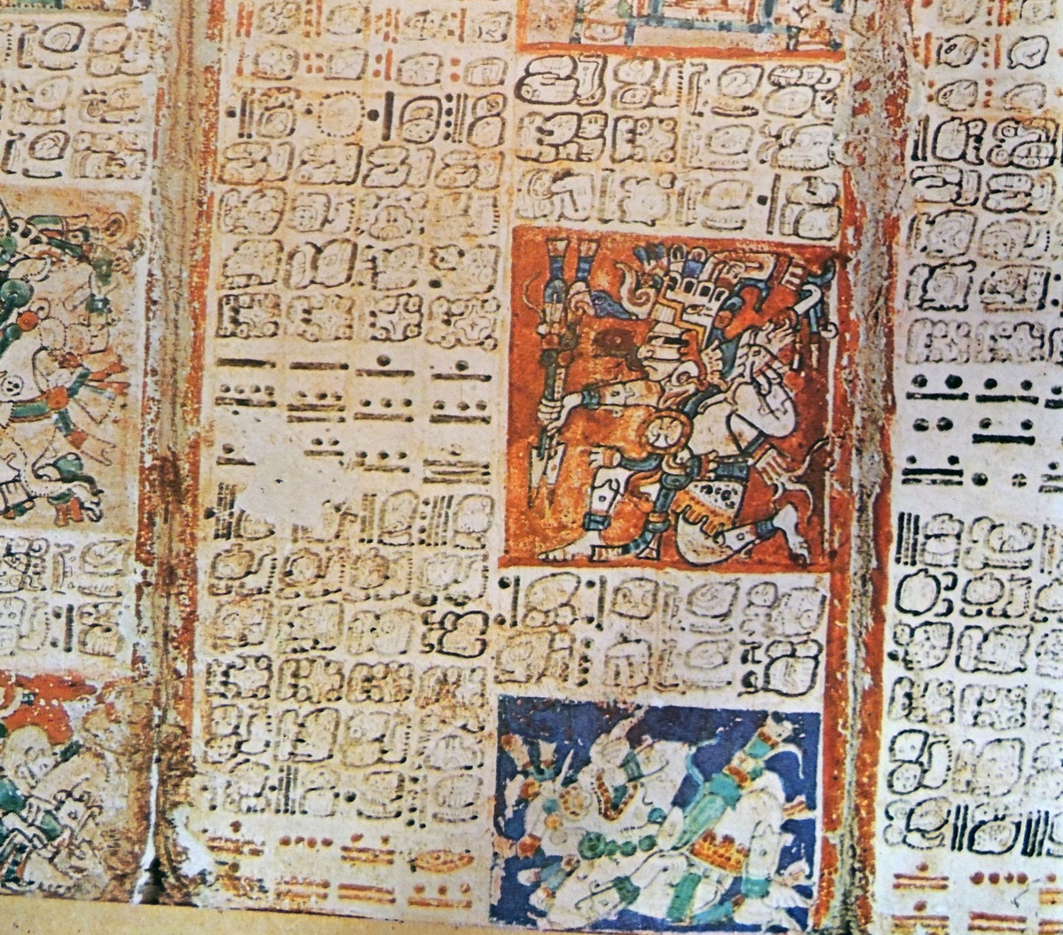 A pre-Columbian Maya book of the 11th Century of the Yucatecan Maya in Chichén Itzá.
