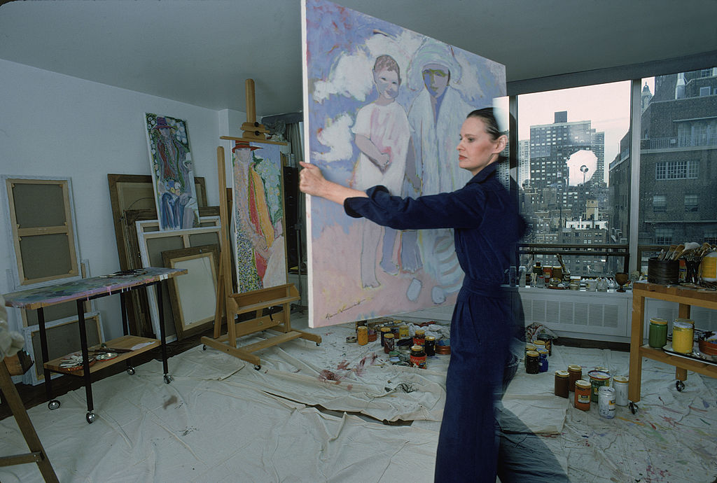 gloria vanderbilt paintings