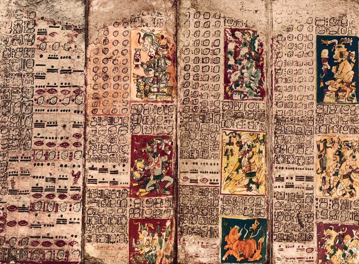 The Dresden Codex, also known as the Codex Dresdensis, is a pre-Columbian Maya book of the eleventh or twelfth century of the Yucatecan Maya in Chichen Itza.