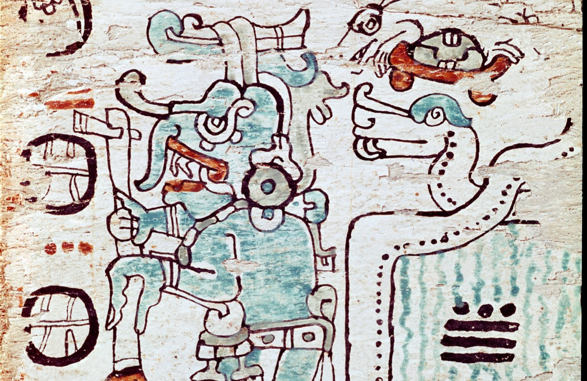 The Madrid Codex, a Mayan almanac that organized their calendar
