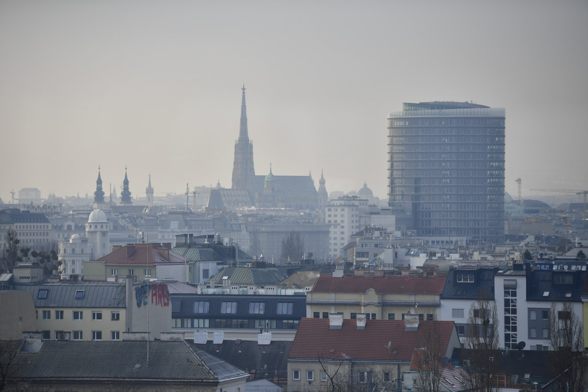 The skyline of Vienna