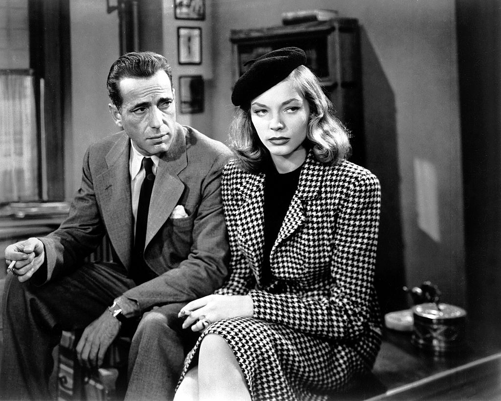 Bogart and Bacall Fall in love