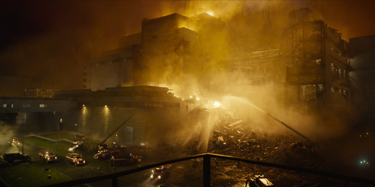 hbo's chernobyl depicts the 1986 disaster.