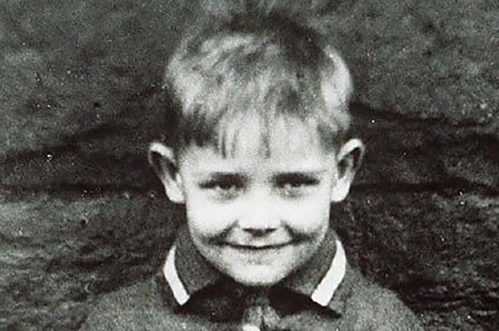 Picture of Sean Connery as a little boy