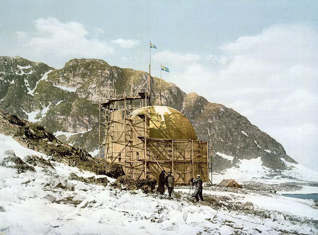 Salomon August Andrée's Station at Danskøya, Svalbard, Norway