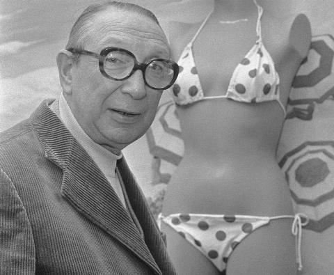 Louis Reard with Bikini