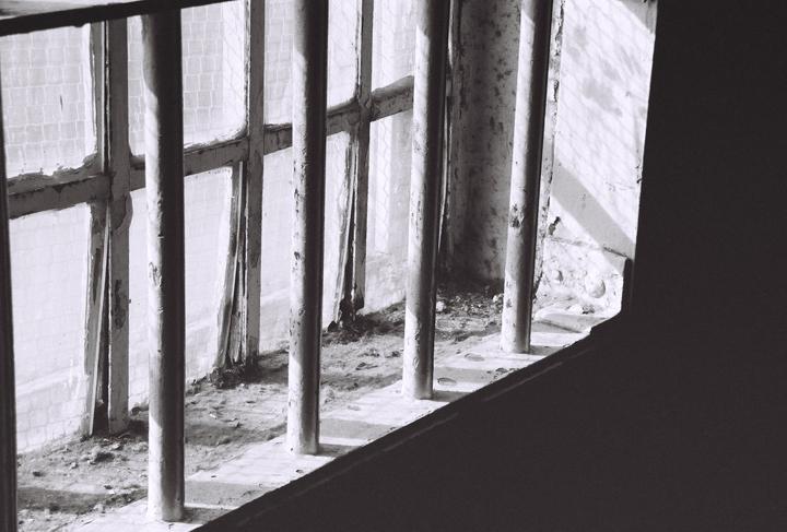 a window at alcatraz