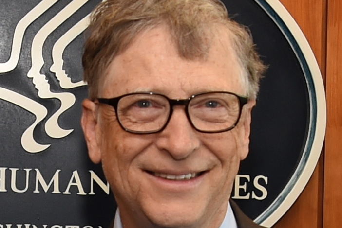 Bill Gates with glasses