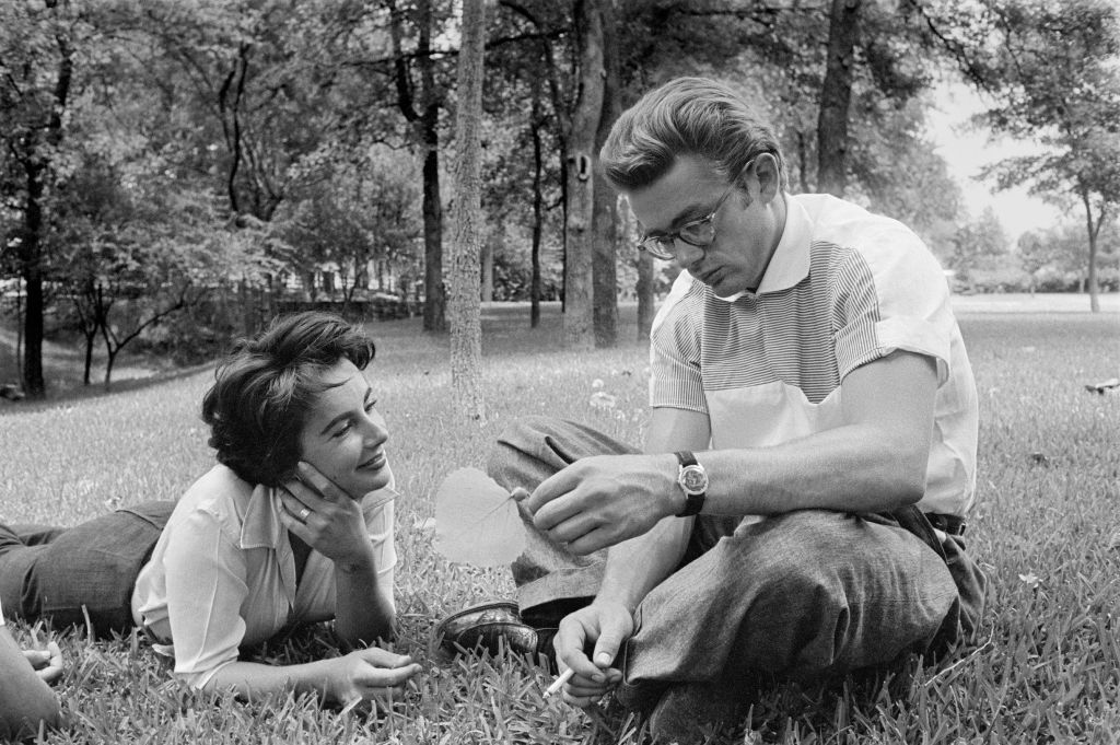 James Dean and Elizabeth Taylor, Giant