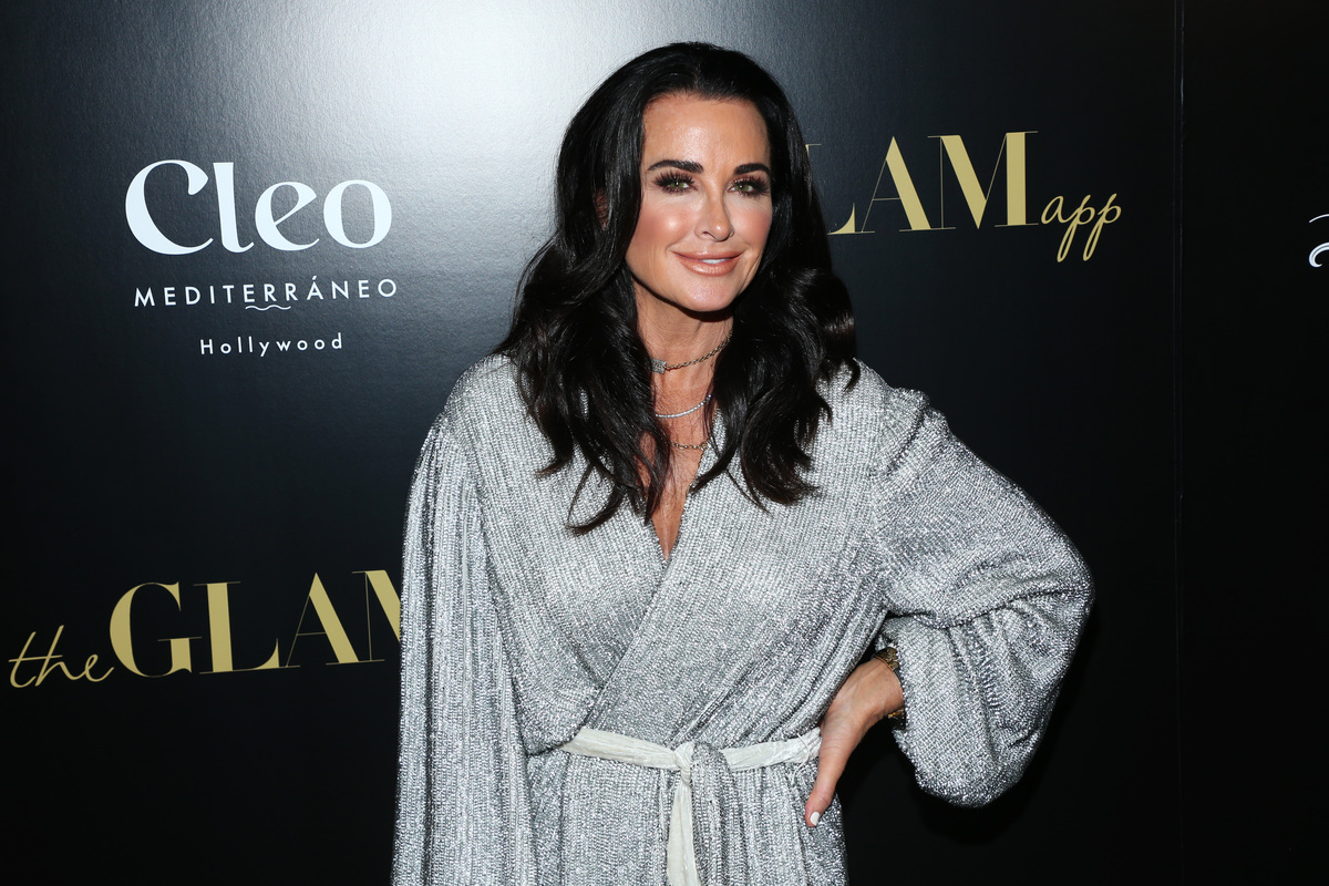 Kyle Richards attends The Glam App Celebration Event