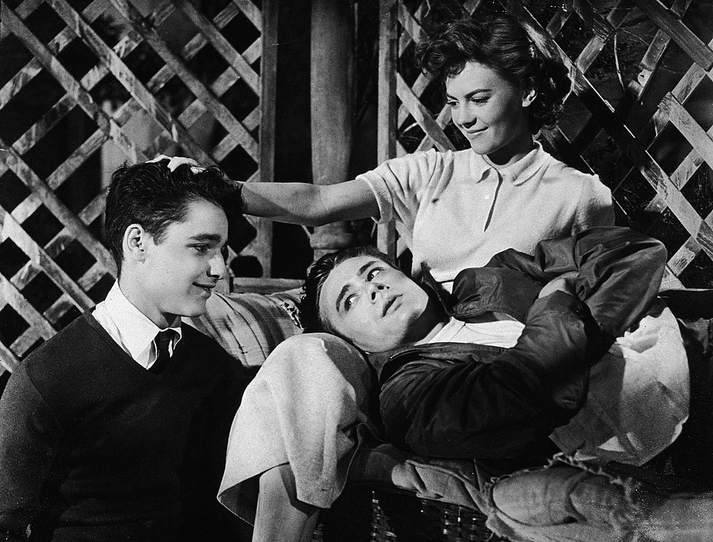 Dean, Wood and Sal Mineo