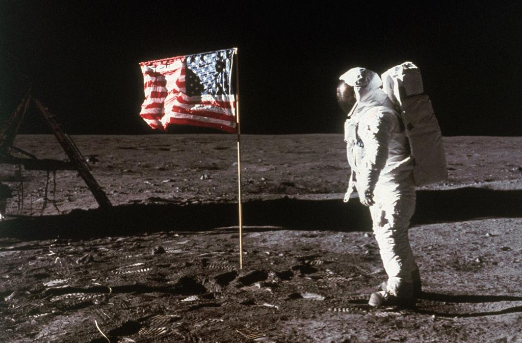 Flag On The Moon -517387396